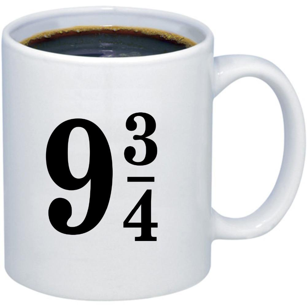 Harry Potter Coffee Mug Platform Nine and Three Quarters
