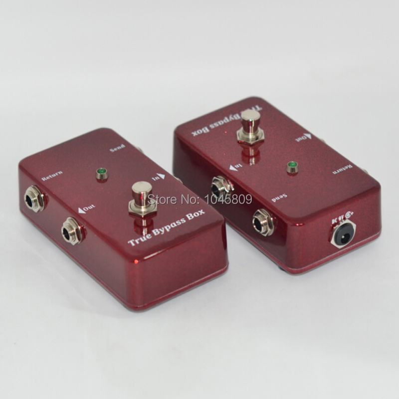 Loops / Guitar Effect Pedal Looper Switcher true bypass guitar pedal Red Loop switch(China (Mainland))