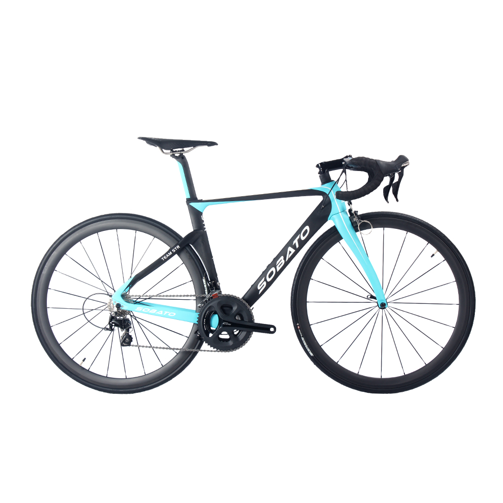 High quality ! Sobato Full carbon fiber complete bike Carbon Road RAA bicycle with 5800/6800Groupset comple to bicicletta(China (Mainland))