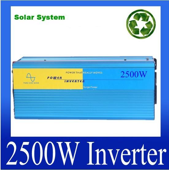 Pure Sine Wave power inverter 2500w DC 12V to AC 220V 230V 240V dc ac power converter <br><br>Aliexpress