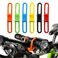 2pcs Cycling Bicycle Bike Silicone Elastic Rubber Bandage Holder Bind For Multi Use free shipping