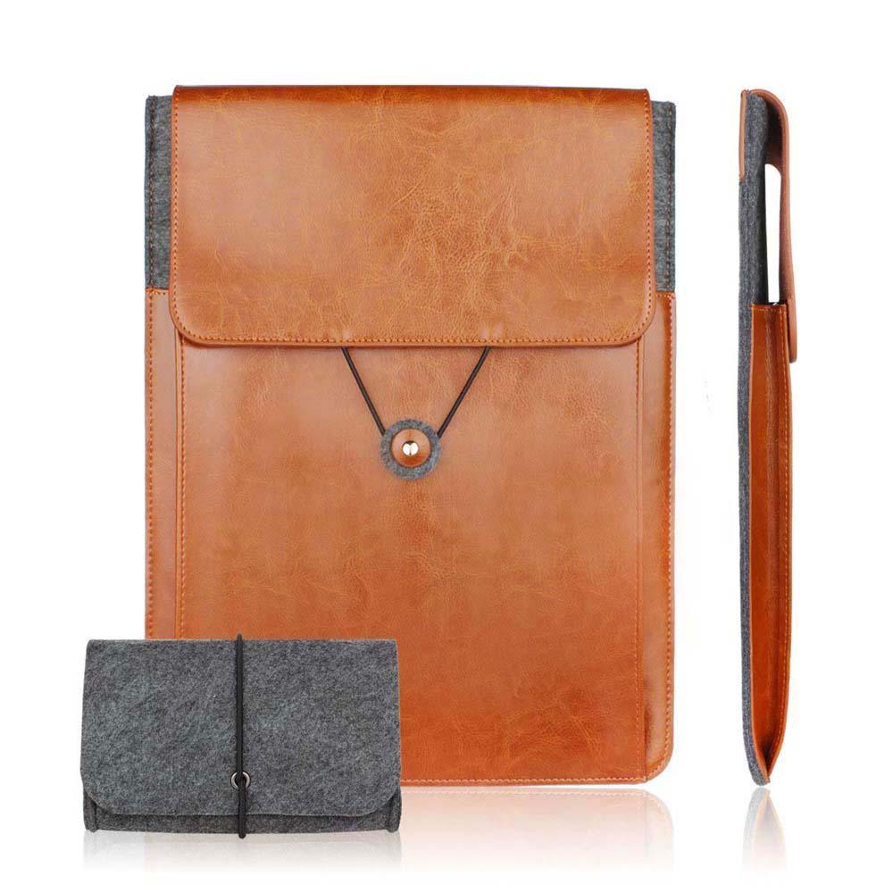 Genuine Leather Vintage Envelope Laptop Sleeve 11 6 13 3