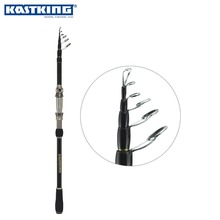 KastKing Ranger Top Quality Carbon 1.8M 2.1M 2.4M 2.7M Portable Telescopic Fishing Rod Spinning Fish Hand Fishing Tackle Sea Rod(China (Mainland))