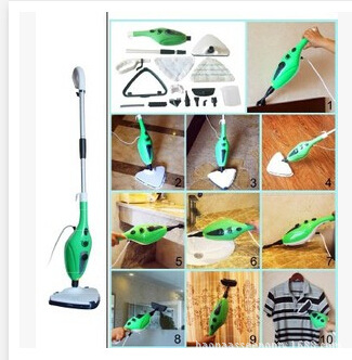 100-240V products multifunctional steam cleaning machine 12 IN 1 steam mop mop 12 in one household(China (Mainland))