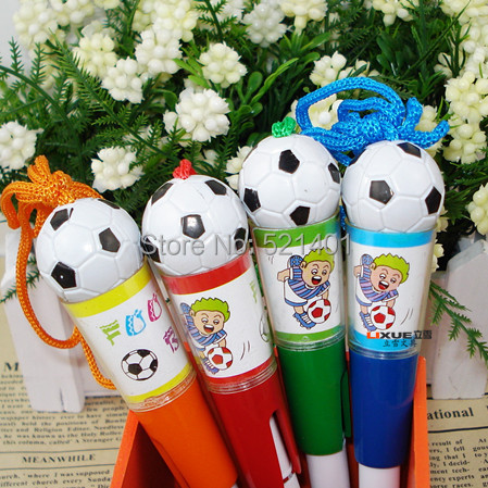 2015 Limited Gorjuss Li Xue 307 Football Basketball Advertising Stationery Sets of Plastic Ballpoint Pen Drawing Office Supplies(China (Mainland))
