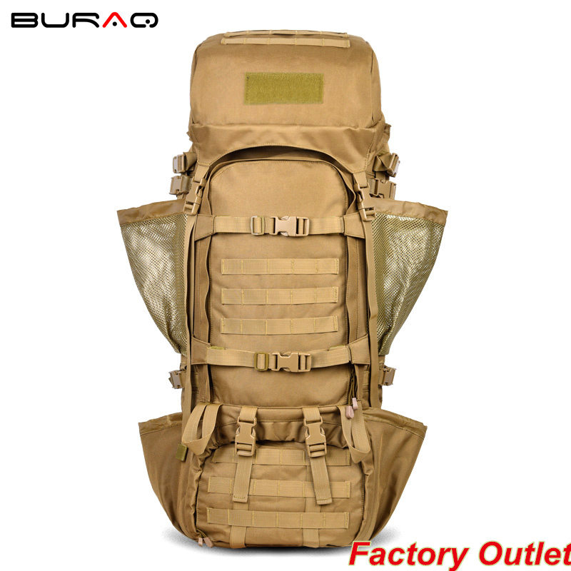High Quality 110L Outdoor Cycling Backpack Hiking Mountaineering Bag Multicolor Camouflage Tactics of Unlimited Expansion Bag(China (Mainland))