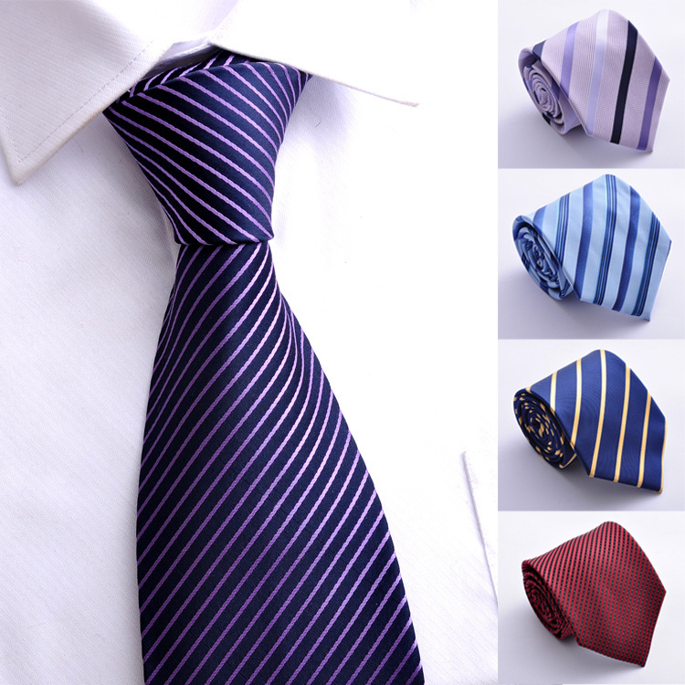2015 Classic 100% New Jacquard Woven Silk Men's Tie Necktie - Luo's Store Focused on Men store