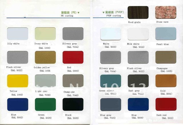 A2grade fireproof  aluminum composite panel,PE & PVDF coating,ACP