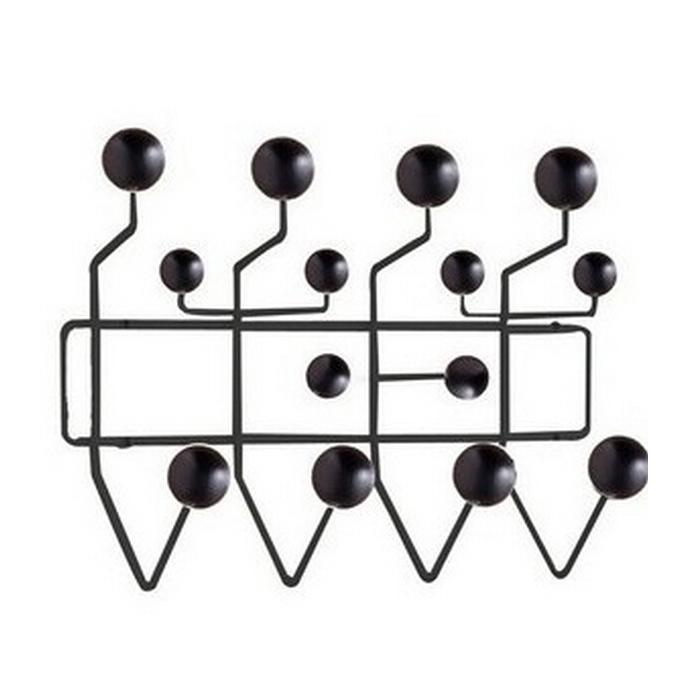 Cheap New black wood ball hangers Nordic simple and stylish wall coat hanger creative designers(China (Mainland))