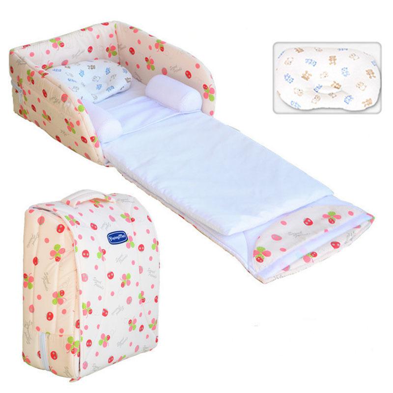 2016 Newborn Baby Girl Cradles Crib Infant Safety Portable