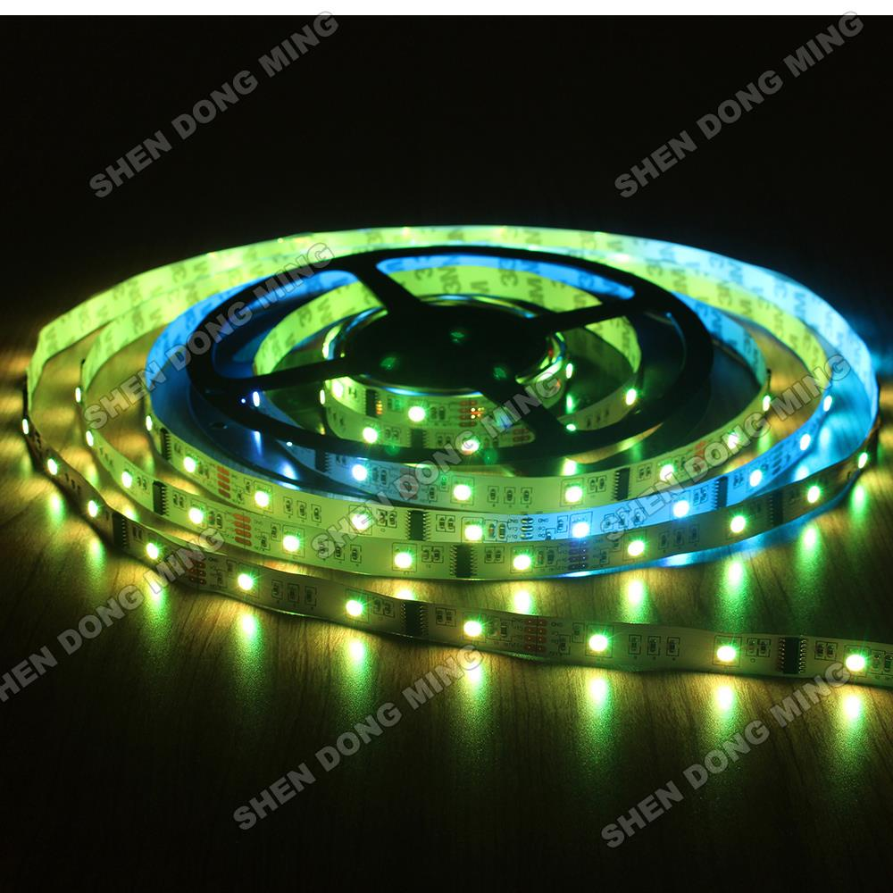 30M/lot Free Shipping Led Pixel Strip RGB Led Strip 10IC 30Leds changeable Full Colors Digital LED StripLPD6803(China (Mainland))