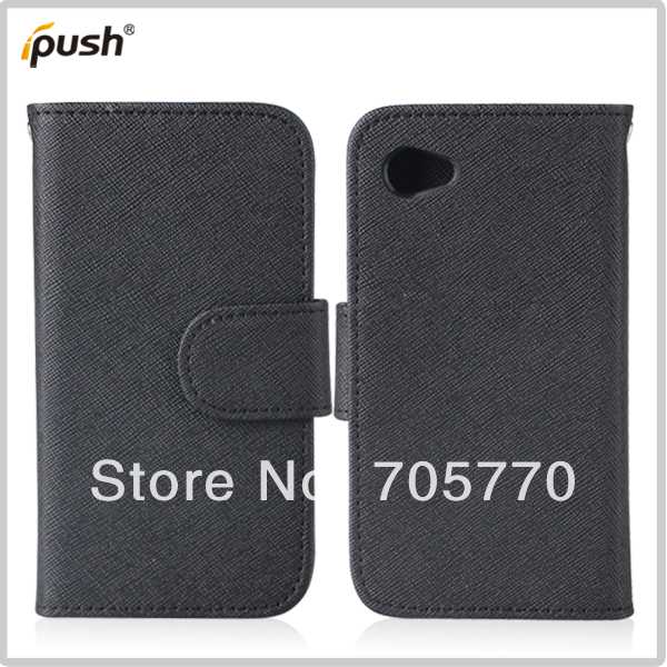5pcs/lot Hot Sale Black Filp PU Leather Wallet With Slod Card Case For HTC First Cell Phone Case Free Shipping(China (Mainland))