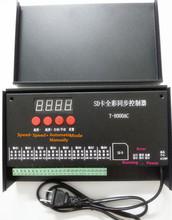 T8000 AC110-240V SD карты пикселей управления для WS2801 WS2811 LPD8806 MAX 8192 пикселей DC5V