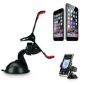 Universal Car Windshield Mount Stand Mobile Phone Holder Mount Stand For iPhone 4 5 5s 6