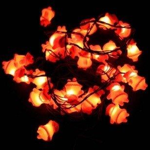 LED Christmas lights,Santa Claus colored lantern, Father Christmas lights(China (Mainland))