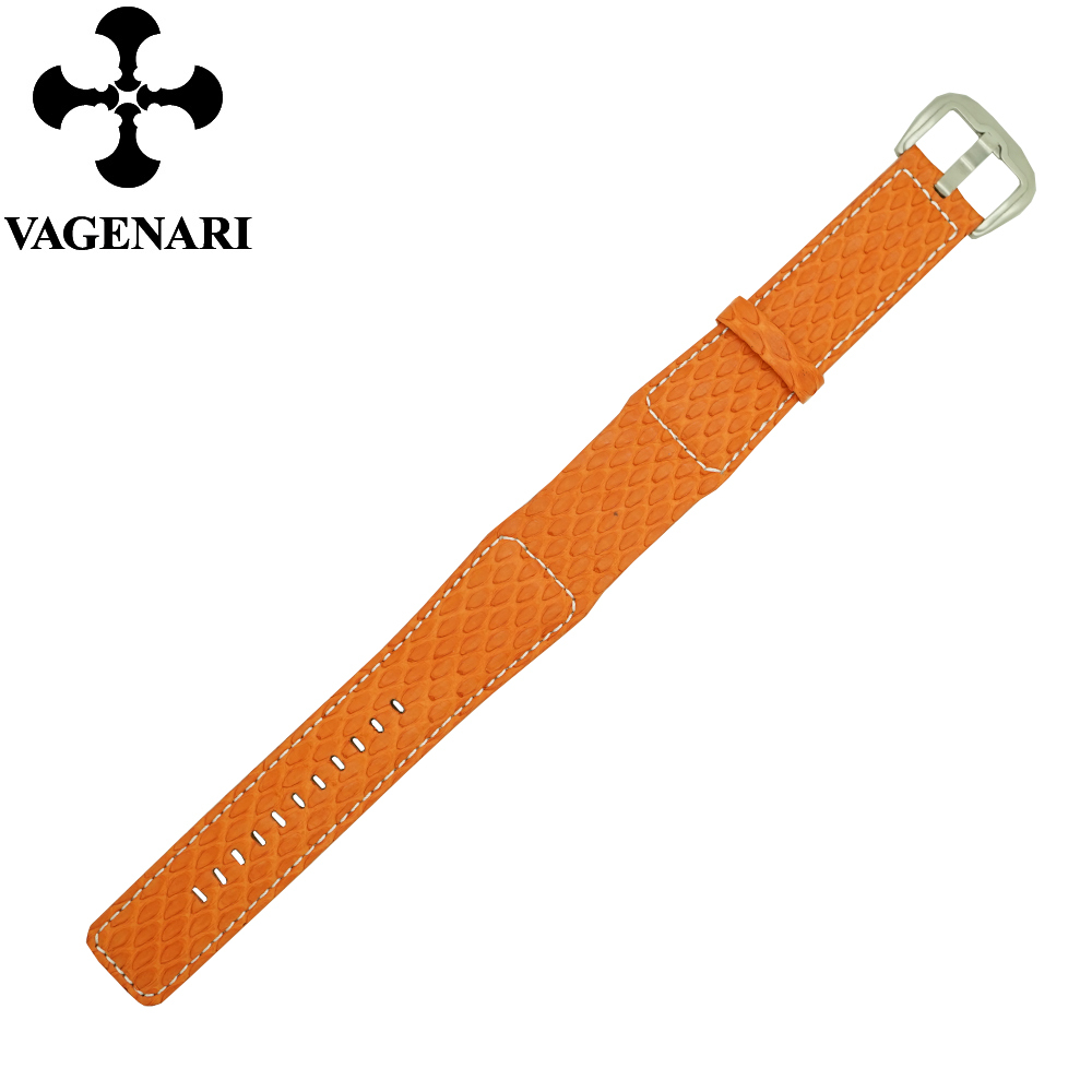 2015 New Arrival Orange Fish Skin Dietrich Watch Band 24/22 mm Watch Strap with Free Shipping<br><br>Aliexpress