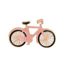 Del fumetto Spille k Collezione Dello Smalto Spilli Bike Umbrealla Labbra Vestito di Pecora Spille Risvolto Spille Distintivo Personalizzato Regalo Creativo per la Ragazza delle donne(China)