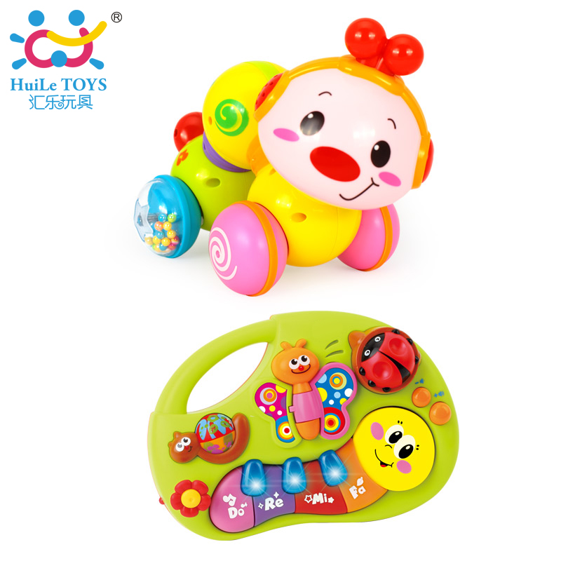 2pcs/set ABS infant baby electronic sounding lighting piano musical toy child animal music early education toys(China (Mainland))