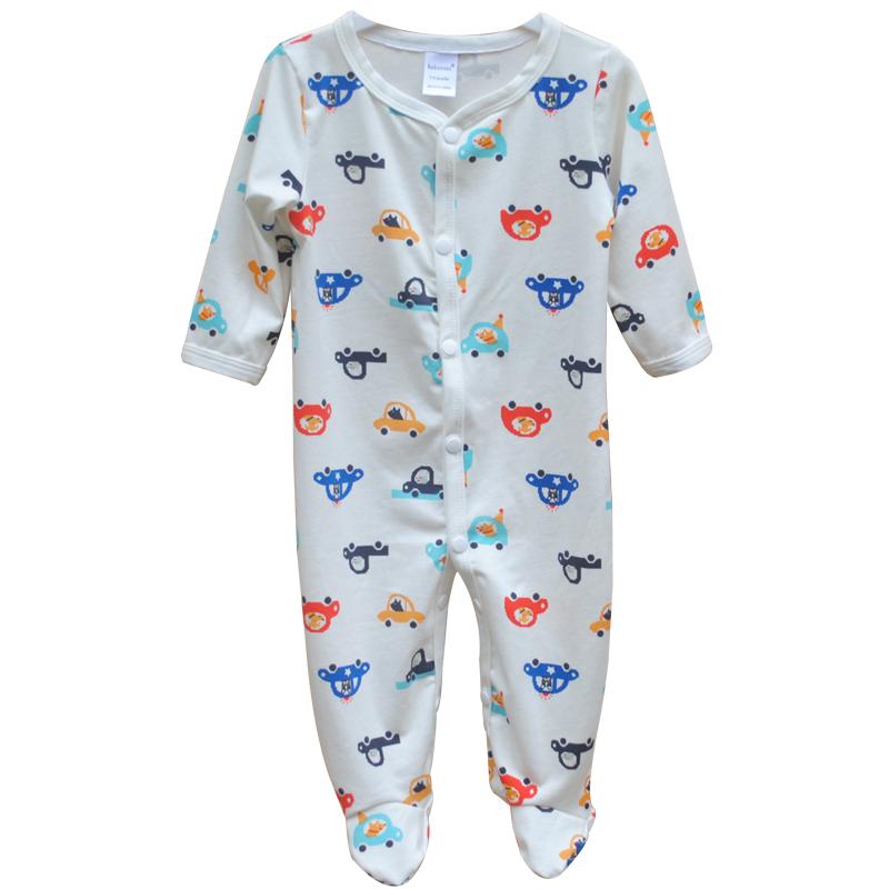 Newborn Uni Baby Clothes Cotton Boy Girl Romper Long