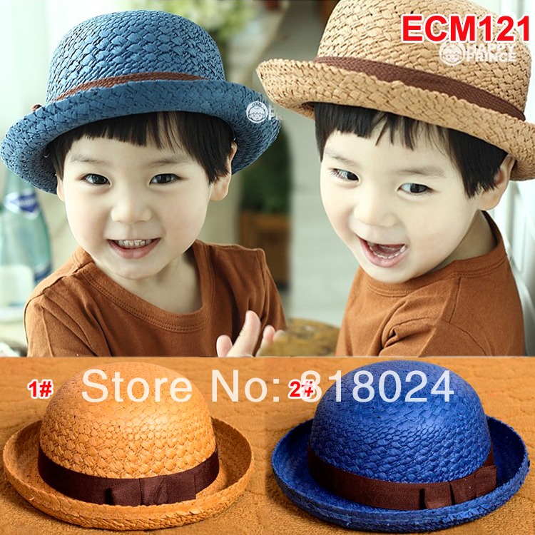 10pcs/lot High Quality 2014 Fashion Summer Baby Straw Hat Baby girls boys summer sun hats Children Accessories Free ShippingОдежда и ак�е��уары<br><br><br>Aliexpress
