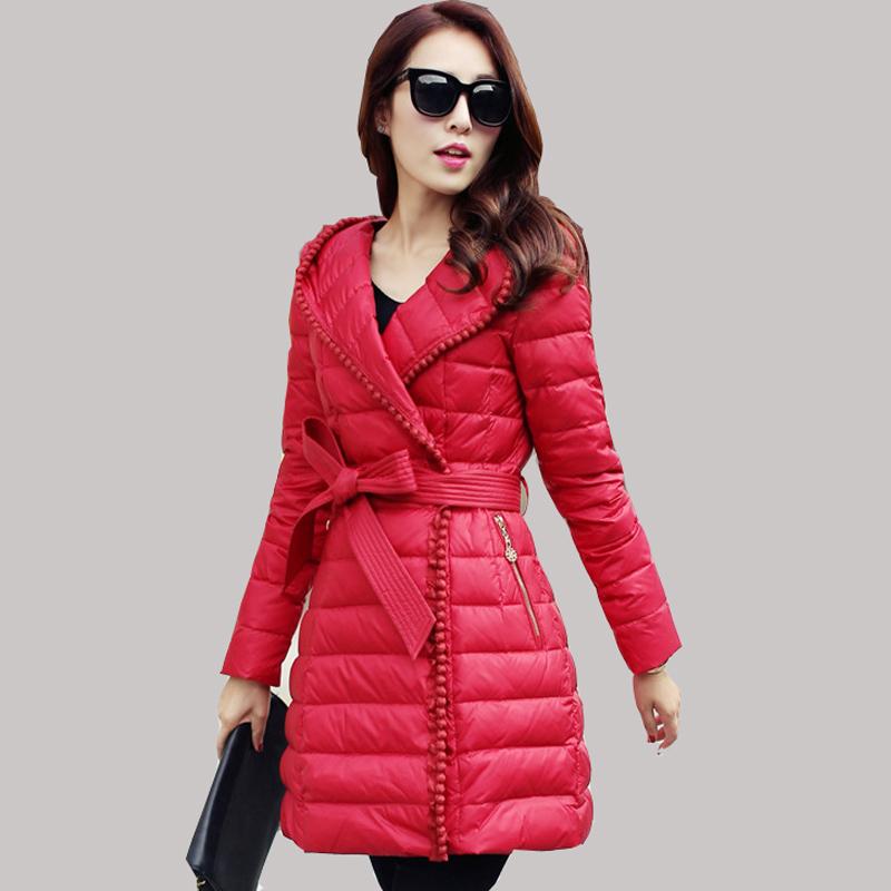 Фотография 2015 Brand Female Duck Down Jacket Winter Coat Korean Slim Women