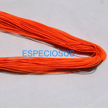 20 colors 10 meter Waxed Cotton String Beading Cord Rope 1mm For Bracelet And Necklace Making Weaving Departments(China)