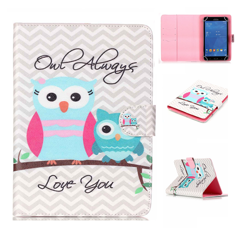 - HTB1xB WLXXXXXXiaXXXq6xXFXXX0 - [print] Fashion PU Leather Stand Case Cover For Digma Optima 7.3 Universal 7 inch Tablet cases w/Credit Cards Holder M4D69D