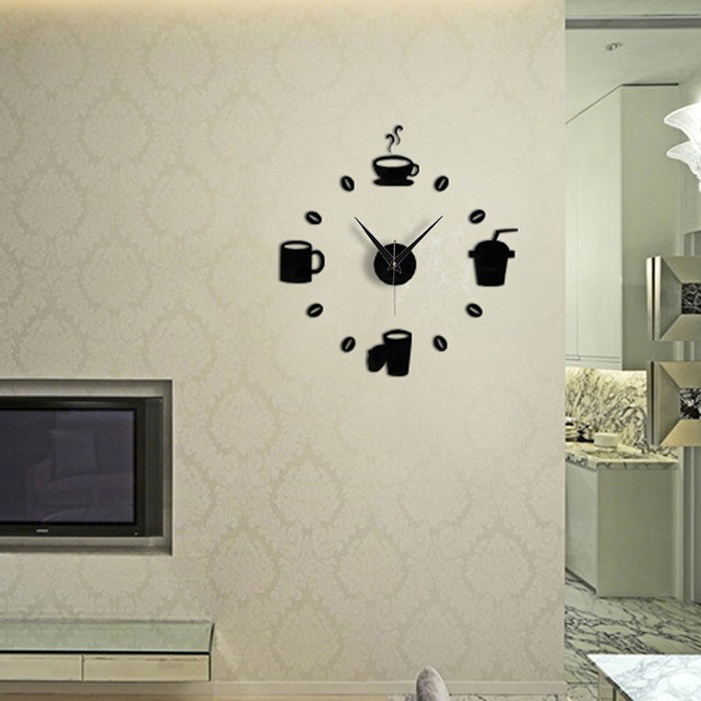 Wholesale Diy Modern Home Decoration Large Coffee Cup Decal Kitchen