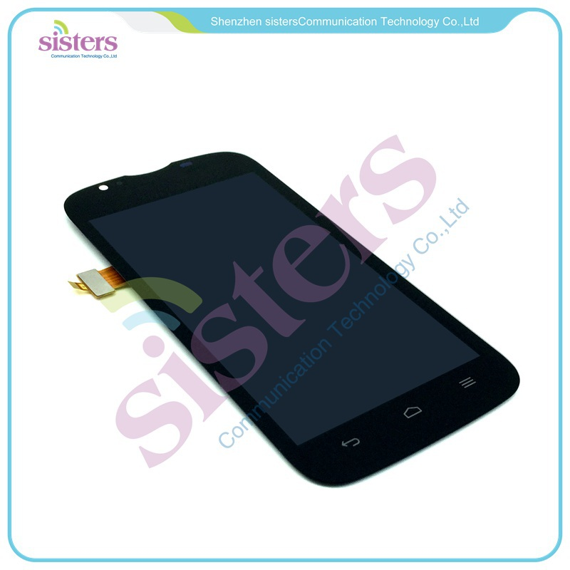 HAW0048 Black LCD Display With Touch Screen Digitizer Front Glass Assembly For Huawei U9202 P1 LTE 4G (5)