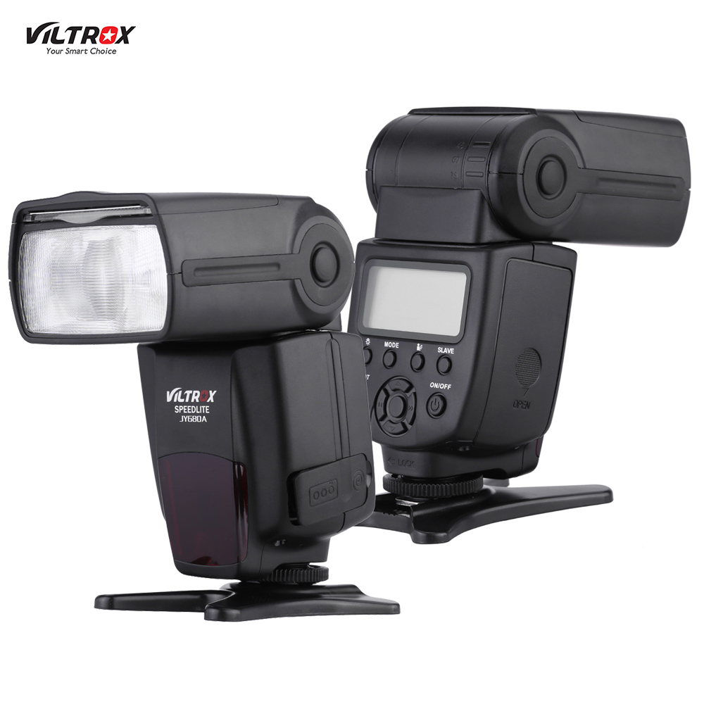 Viltrox JY680A Universal On-camera Flash GN33 LCD Speedlite for Canon Nikon Sony Pentax DSLR Camera with Backlight Carrying Bag(China (Mainland))