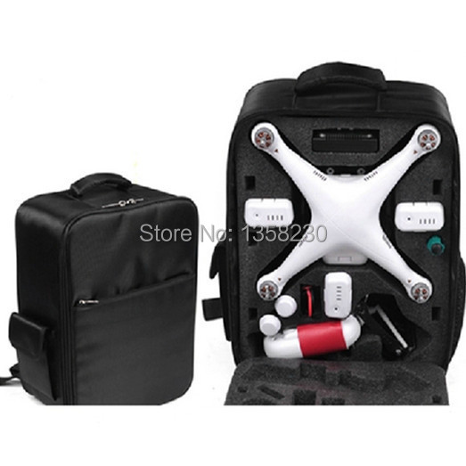 2015 DJI Phantom 1 & 2 Vision FPV Quadcopter Backpack Waterproof Portable Outdoor Travel Bag case&box - Lucky store 888 (01 store)
