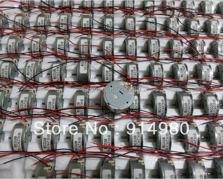 DIY 3v-9v 300 micro motor silent DC motor solar panels dedicated Toy car accessories electric motor(China (Mainland))
