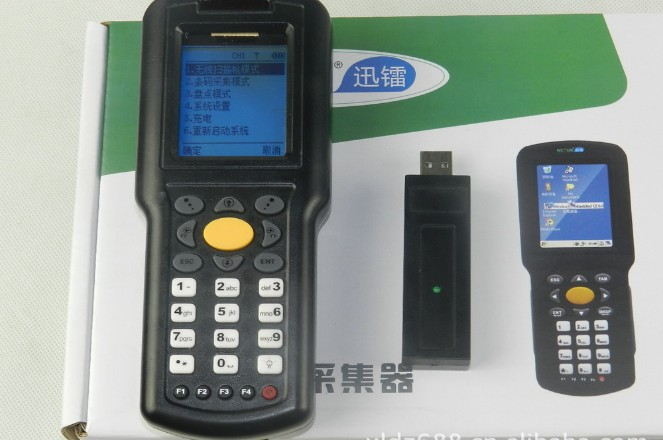 Wireless Real-time Barcode reader Data Scanner laser bar code terminal.data collection terminal Handheld Barcode Data Collector<br><br>Aliexpress