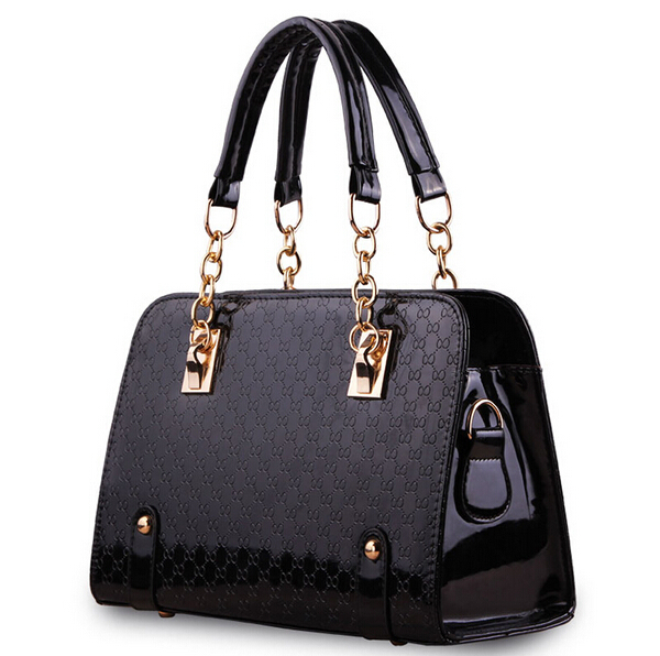 Pochette Women Leather Handbag Plaid Bag Bolsas Femininas Couro Lady Single Designer Shoulder Bags Handbags Women Famous Brands(China (Mainland))