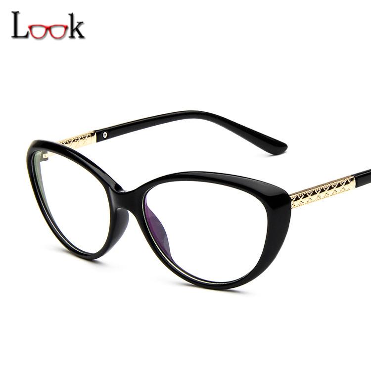 Glasses Frames For Me : Sale 2016 Retro Brand Glasses Frame Cat Eye Eyeglasses ...