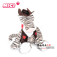 New Hot Classic Big 50cm Germany Nici Cowboy Series Animal Plush Toy Lion Tiger Giraffe Child Birthday Christmas Presents 1pcs