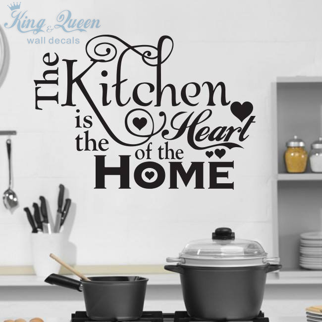 Kitchen House of Love Vinyl Wall Sticker Home Decor Stikers For Wall Decoration Kitchen Wall Stickers DIY(China (Mainland))
