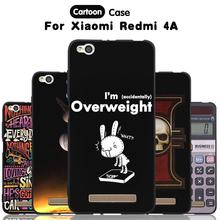 Buy JURCHEN Phone Case Xiaomi Redmi 4A Case Xiomi Hongmi 4A Cover Cartoon Paint Silicone Cover Xiaomi Redmi 4A Case for $1.87 in AliExpress store