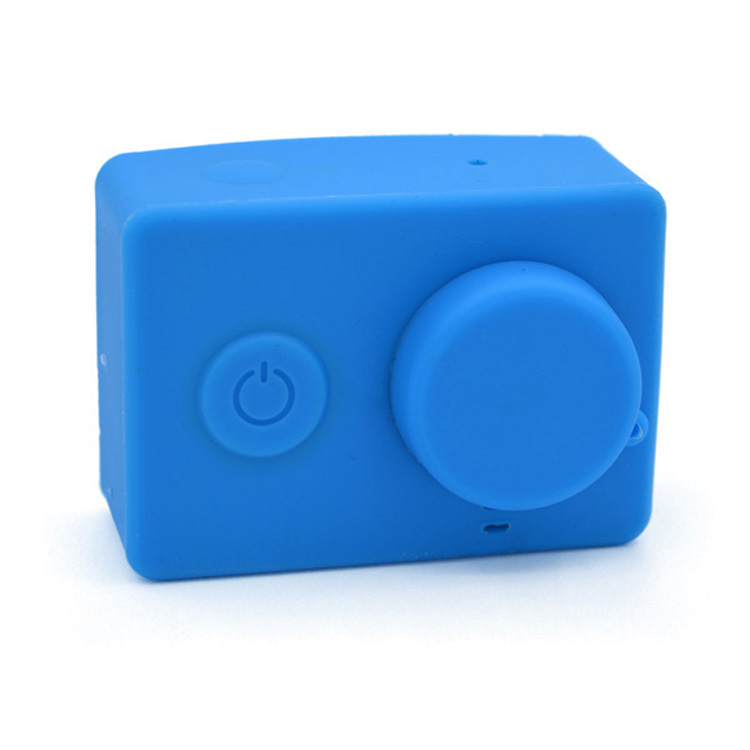 New Soft Silicone Protective Case Lens Cover For Xiaomi Yi Sport Action Camera Accessory Free Shipping
