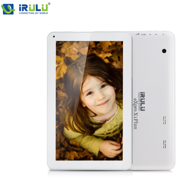 "IRULU eXpro X1Plus 10.1 ""Компьютера Tablet PC Quad Core Android 5.1 Двойная Камера 16 ГБ ОПЕРАТИВНОЙ ПАМЯТИ Bluetooth WI-FI с клавиатуры Случае"