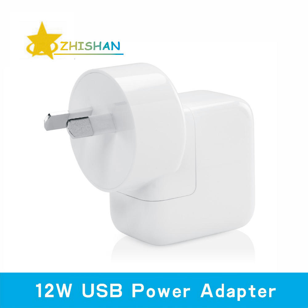2.4A Fast Charging 12W USB Power Adapter Travel Charger for iPhone 5s 6 Plus iPad Mini Air Samsung Phone or Tablet for Australia(China (Mainland))