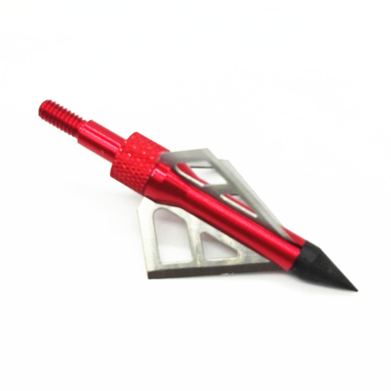 6pcs lot 100GR high quality hunting crossbow arrow broadhead also used as archery bow and arrow