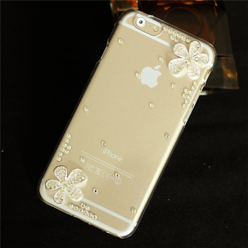 Luxury Rhinestone Bling Case Cover For iPhone 6 case 4.7 inch For iphone 6 plus case 5.5inch Diamond Cover Phone Bags cases(China (Mainland))