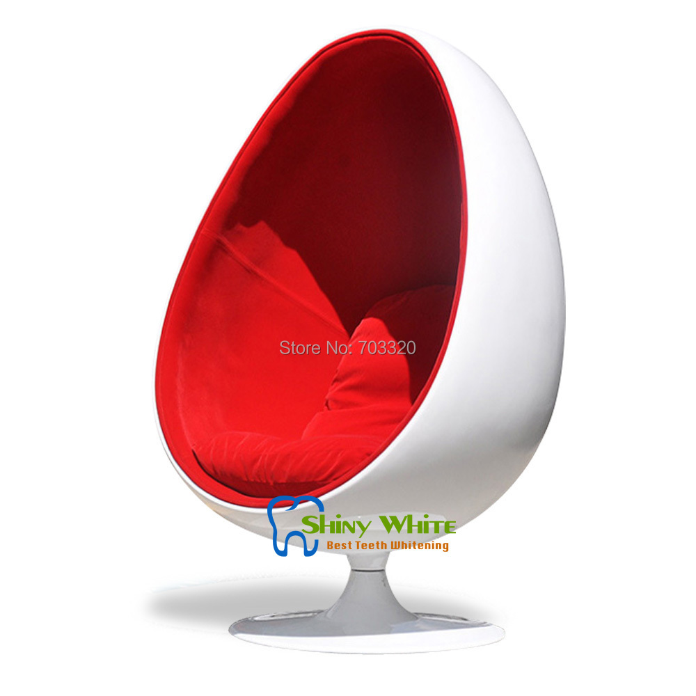 Retro living room leisure egg pod ball chair for beauty Egg pod ball chair