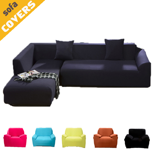 Solid Pure Color Sofa slipcover Armchair Corner Couch Full body Chaise cover Elasticity flexible Anti-dirty-Machine Washable(China (Mainland))