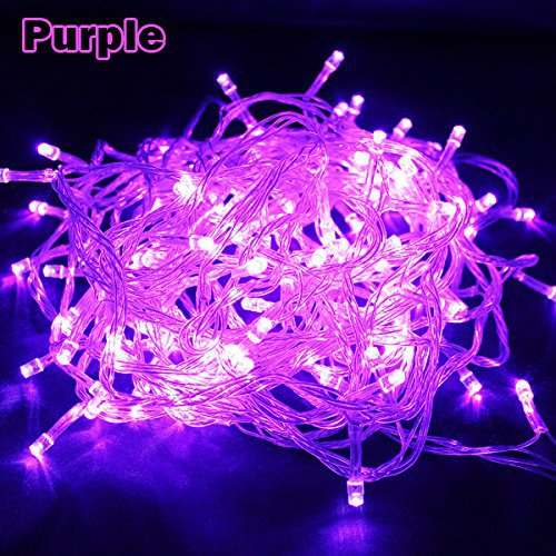 10PCS Pretty Purple 10m Abt.66ft 200led Bulbs Fairy Light String Holiday Lights for Christmas Party Decoration(China (Mainland))