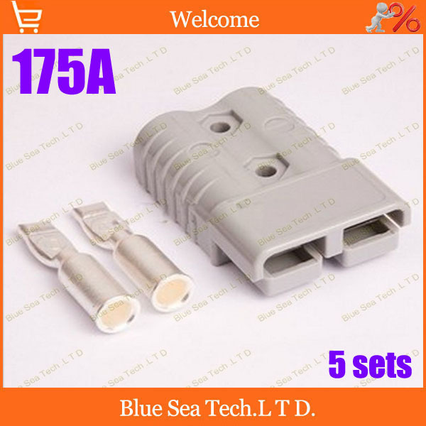Free Shipping 5 sets New CHJ 2P 175A 600V Power Connector Battery Plug,male&amp;female Connectors kits For forklift electrocar<br><br>Aliexpress