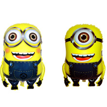 55*40cm Anime Minions Foil Air Balloons Classic Toys For Children Boy Girls Kids Gifts Party Decoration
