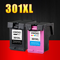 2 Pack 301XL Ink Cartridge Replacement for hp301 HP 301 xl CH563EE CH564EE for Deskjet 1000