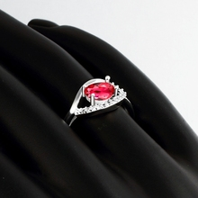 New Ruby Jewelry 925 sterling silver wedding rings for women CZ Diamond ring anel feminino aneis